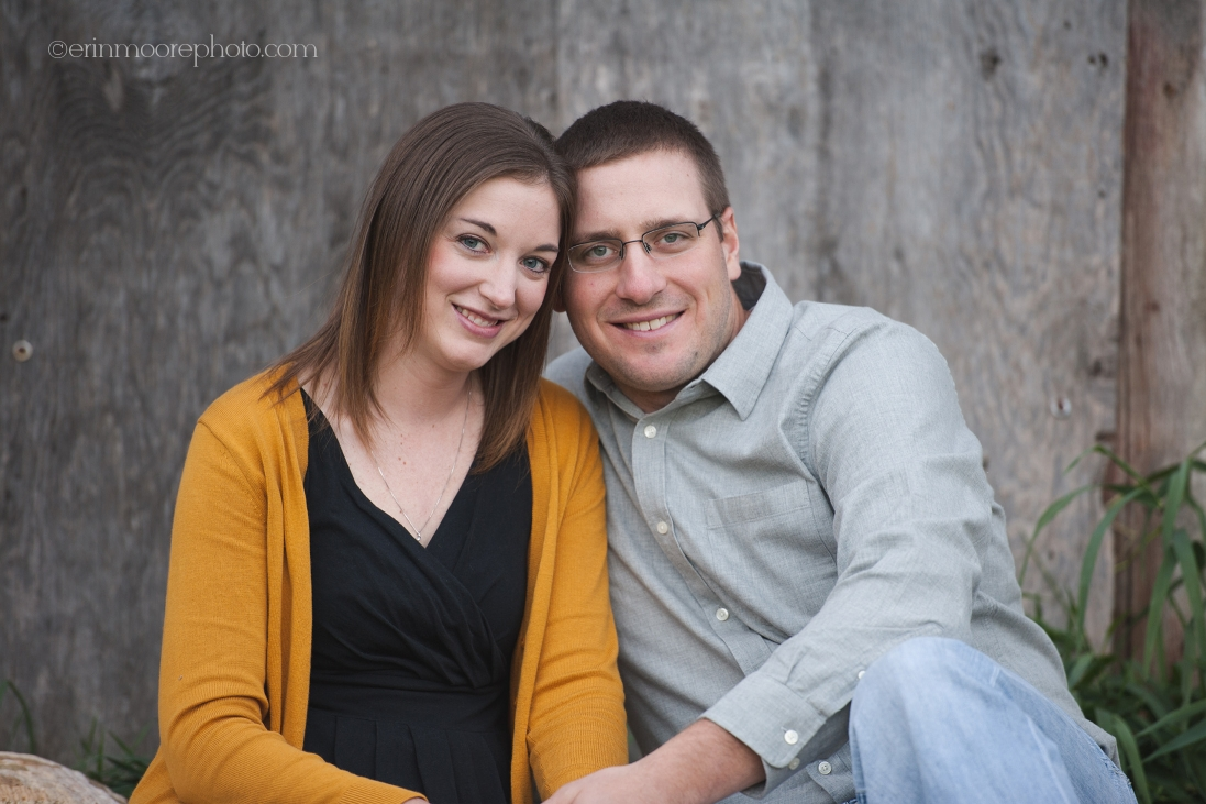 Erin Moore Photography   Wisconsin Rustic Farm Engagement Session